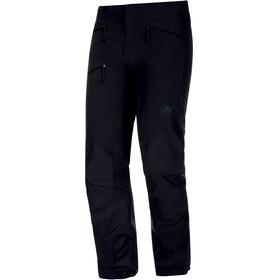 Mammut Courmayeur - Pantalones de Trekking Hombre - negro